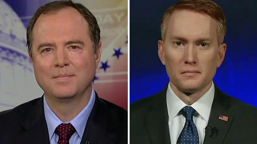 Reaction from Sen. James Lankford and Rep. Adam Schiff