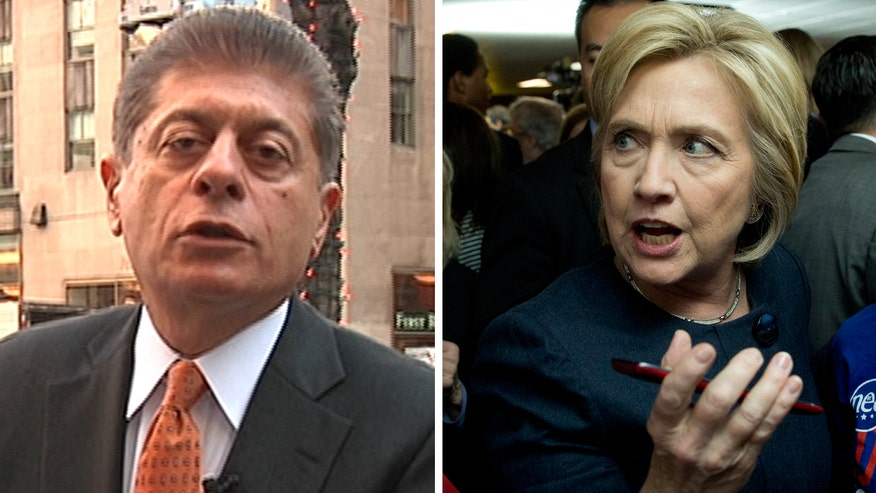 Judge Napolitano's Chambers: Judge Napolitano explains why Hillary Clinton's nightmare isn't Bernie Sander's surge in the polls, but the FBI