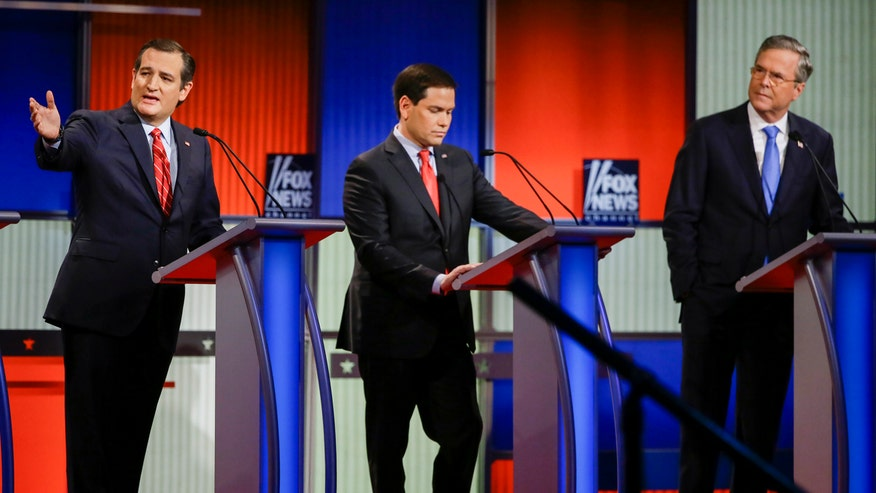 Immigration takes center stage as Marco Rubio and Ted Cruz battle in a Trump-less debate.