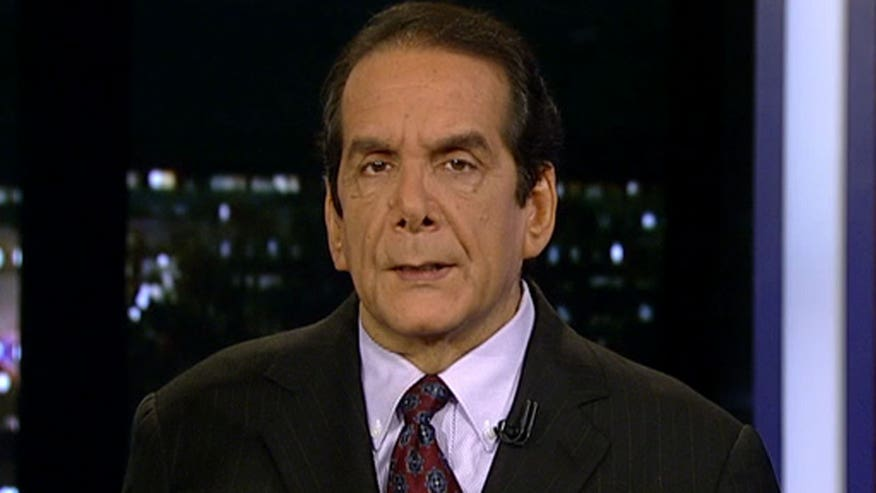 Krauthammer says Republicans will stick with conservative candidate in New Hampshire and not back Donald Trump.
