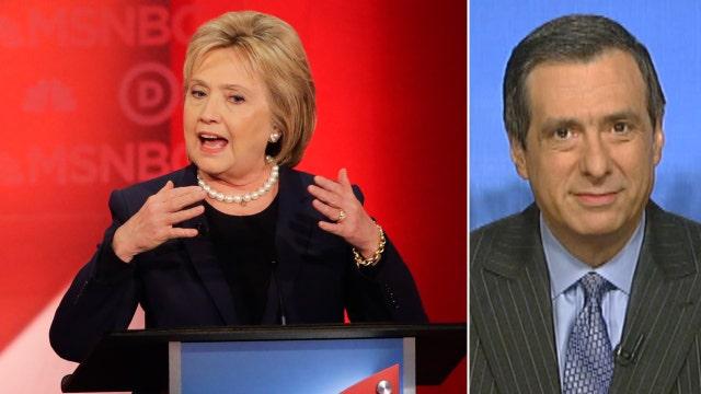Kurtz: Hillary's muddled message