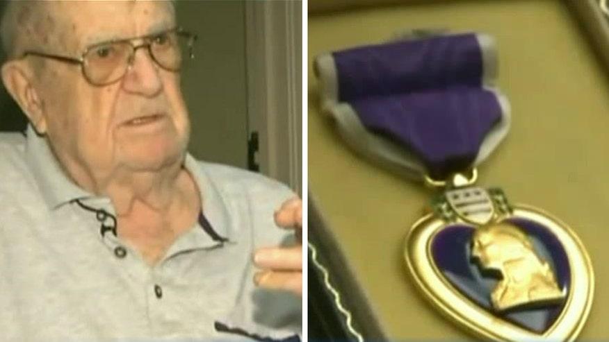VA demanding proof veteran with Purple Heart served in the military