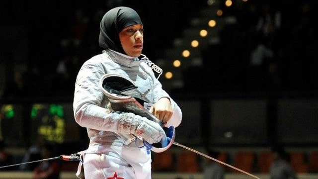 Muslim US Olympian only getting attention because of faith?