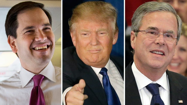 Can Rubio and Jeb become a strong challenge to Trump?