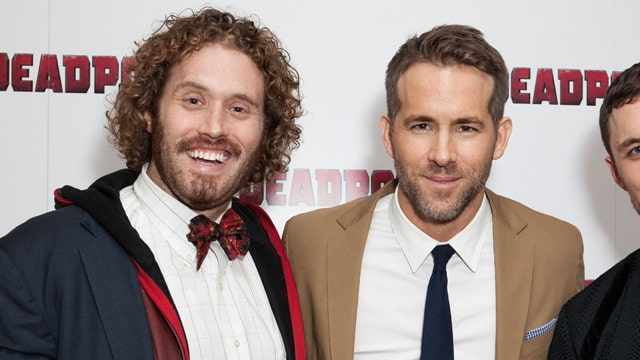 In the FOXlight: Ryan Reynolds and T.J. Miller of 'Deadpool'