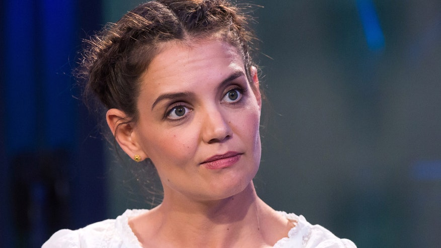 Face2Face: Katie Holmes discusses playing a bipolar poet in the new film 'Touched With Fire'