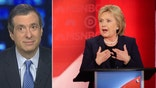 'MediaBuzz' host reacts to Clinton's recent debate performance against Bernie Sanders