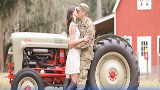 Fox Flash: A dream come true for military couple