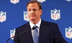 The NFL commissioner's pay dropped 9 million smackers to around $34 million bucks two seasons ago