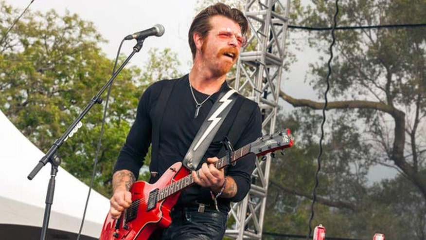 Frontman Jesse Hughes opens up on gun control