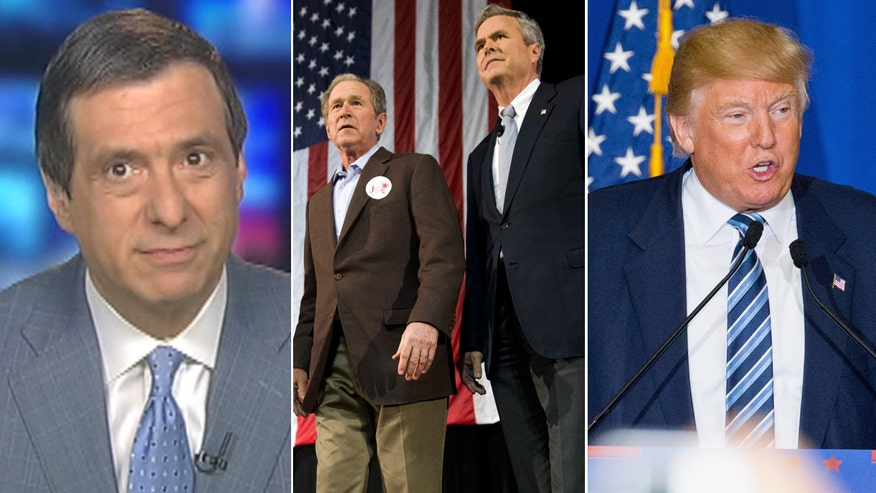 'MediaBuzz' host reacts to Trump's attacks on George W. Bush on campaign trail for Jeb