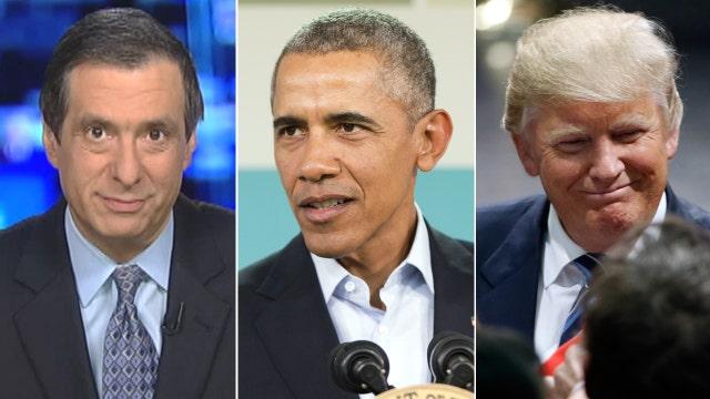 Kurtz: Why Obama can't resist trashing Trump