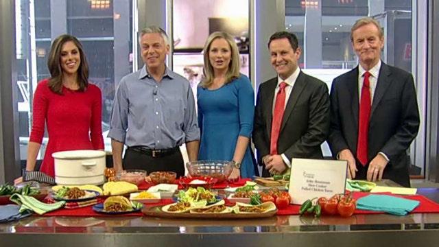 Fox Flash: Huntsman family cooking