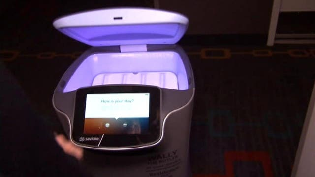 Room service robot makes the rounds in LA hotel