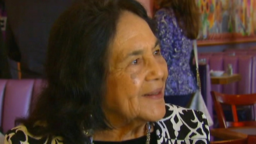 Community activist Dolores Huerta speaks to Fox News Latino about the Latino vote.