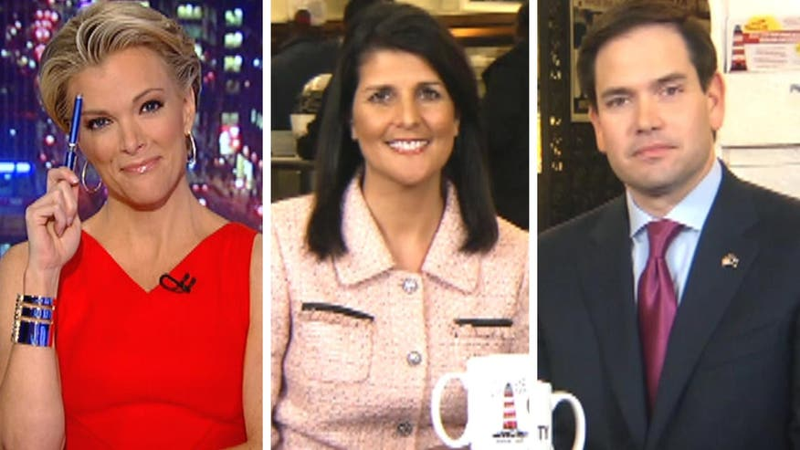 GOP candidate weighs in on dust-up between Trump and the pope; Gov. Nikki Haley explains why she is endorsing the Fla. senator on 'The Kelly File'