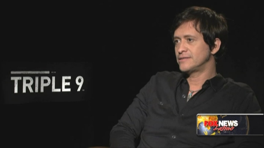 Mexican-American Clifton Collins Jr. is part of the star-studded cast of 'Triple 9'