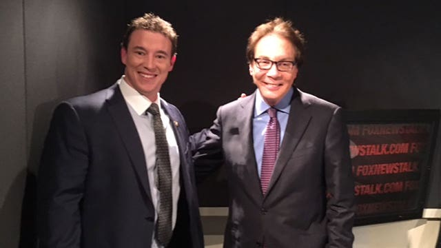 Alan Colmes and Carl Higbie