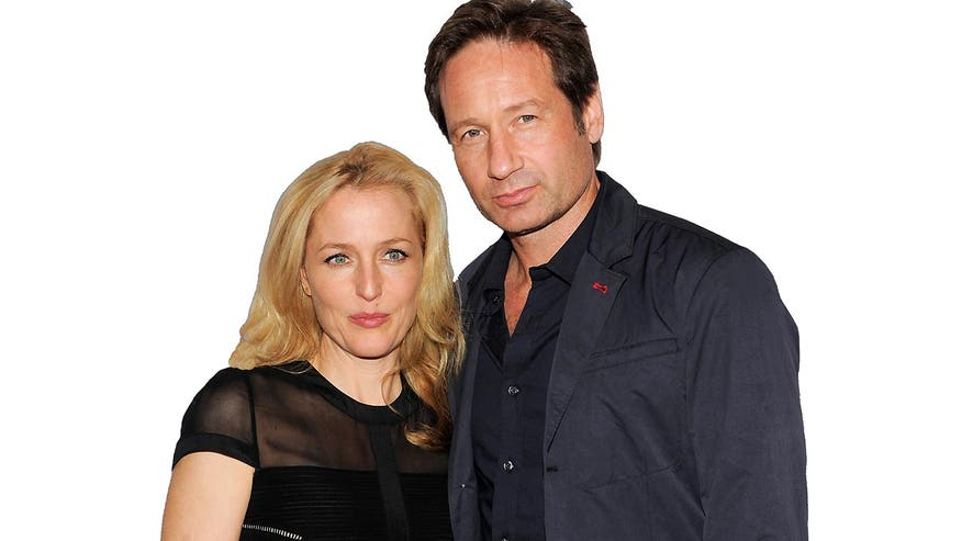 David Duchovny and Gillian Anderson grateful for the opportunity to revisit Mulder and Scully