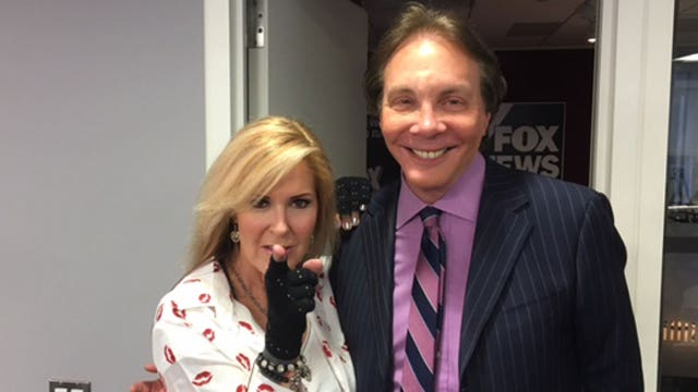 Alan Colmes and Lita Ford