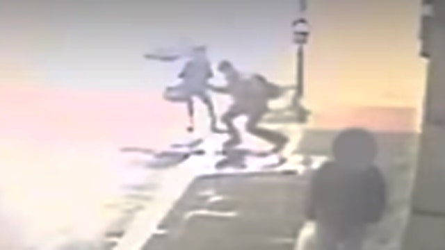 Woman jumps into traffic to avoid sexual assault