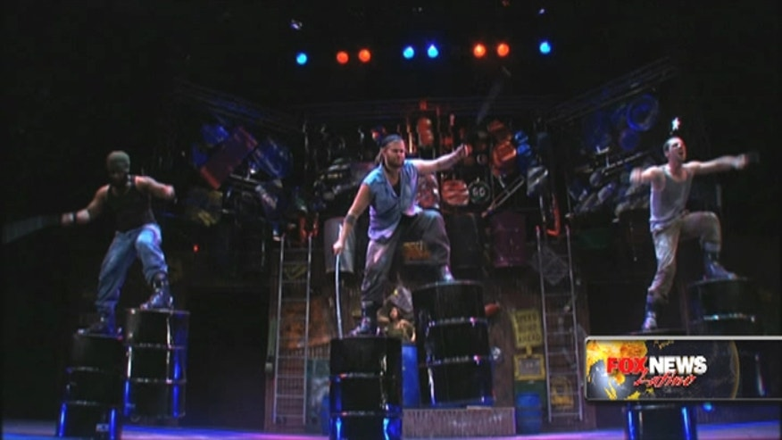 "Rebekah Sager talks to performers of ""Stomp"" which is celebrating 22 years."
