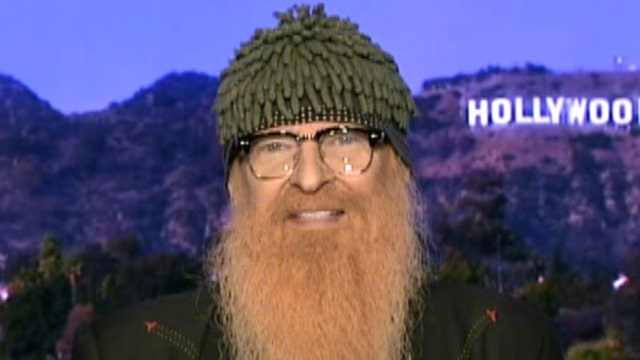 ZZ Top's Billy Gibbons likes beards, legs and cars
