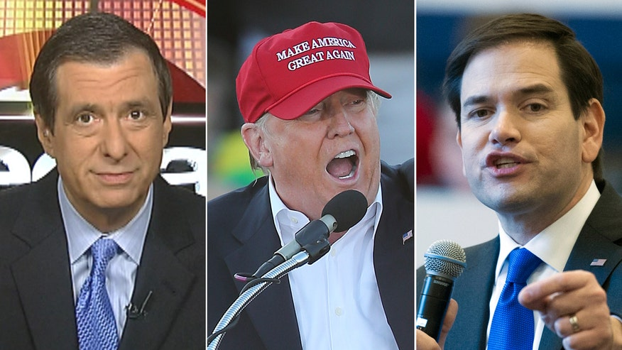 'MediaBuzz' host reacts to fierce rhetoric between Donald Trump, Marco Rubio and Ted Cruz ahead of Super Tuesday