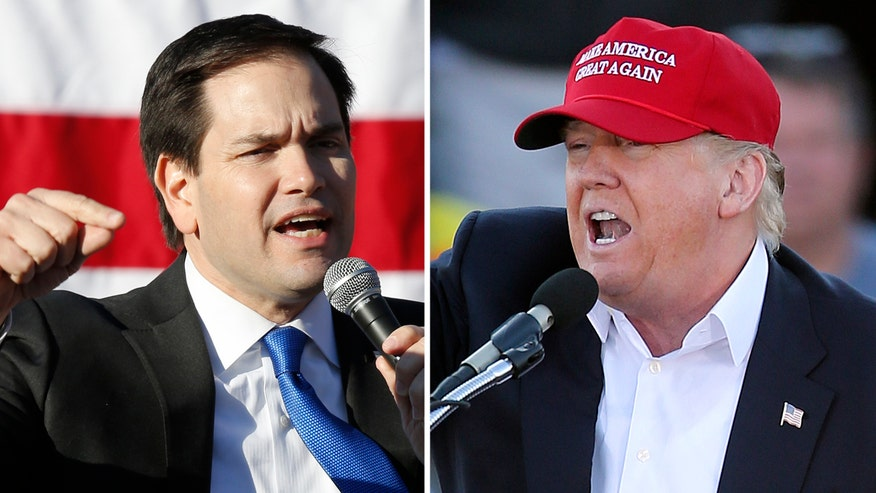 Over the weekend Donald Trump amped up his attacks on Senator Marco Rubio's sweat glands