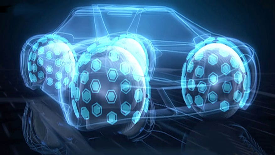 Radical Goodyear concept turns tires into omnidirectional spheres.