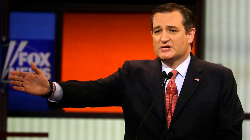 The only person on that stage who looked and sounded presidential and has a shot at getting elected -- was Sen. Ted Cruz.