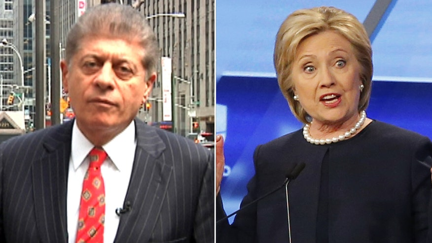Judge Napolitano's Chambers: Judge Napolitano explains how Hillary Clinton's legal troubles are getting worse