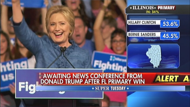 Hillary Clinton sweeps 2nd Super Tuesday