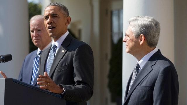 Obama nominates Merrick Garland to the Supreme Court