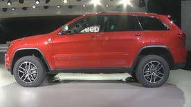 The Jeep Grand Cherokee Trailhawk was built for serious off-roading and looks the part. Jeep CEO Mike Manley tells Fox News Auto's Gary Gastelu what it can do.