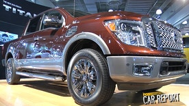 Nissan Trucks VP Fred Diaz says his new Titan half-ton pickup is ready for battle against the pickup giants.