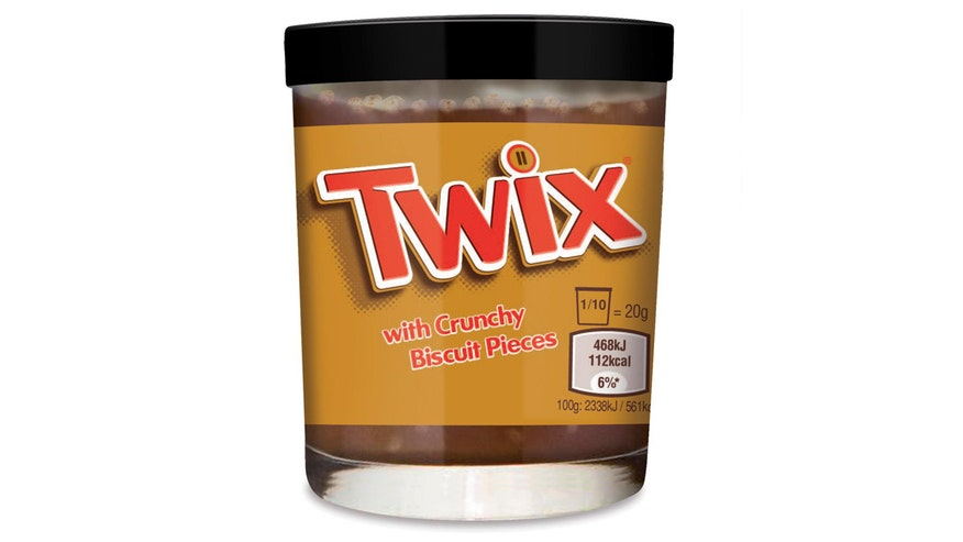 Chew on This: Twix spread is chocolate and caramel with bits of sweet biscuits meant for your toast