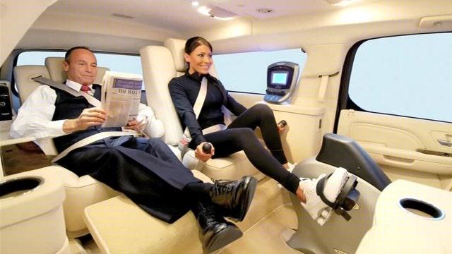 Custom vehicles help celebrities beat traffic in style