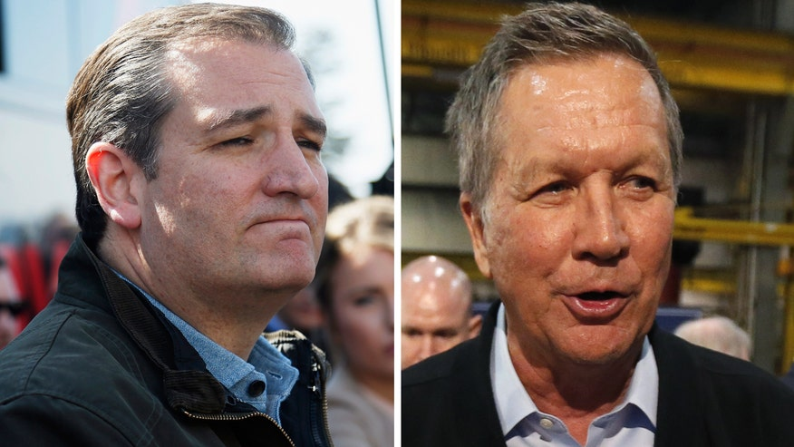 Can a Kasich, Cruz alliance stop Trump? Chris Stirewalt explains the sacrifices each would have to make in just 60 seconds.