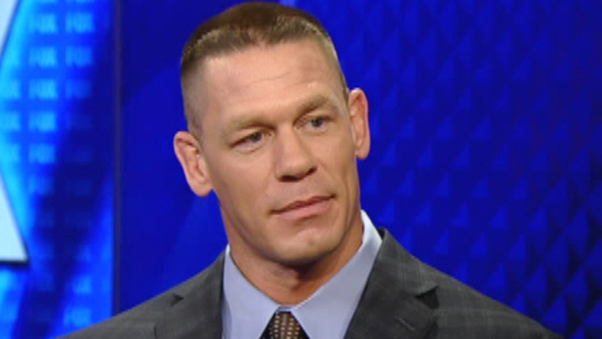 Face2Face: John Cena says 'American Grit' is all about military mentors passing their knowledge to civilians