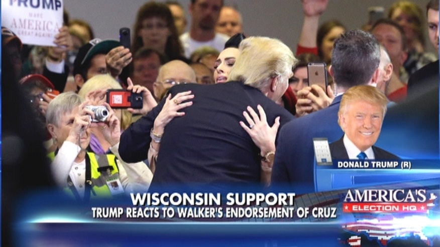 Melissa Young attended a rally in Wisconsin where she shared a story about Trump had sent her a letter to boost her spirits when she was in the hospital because of an incurable disease.