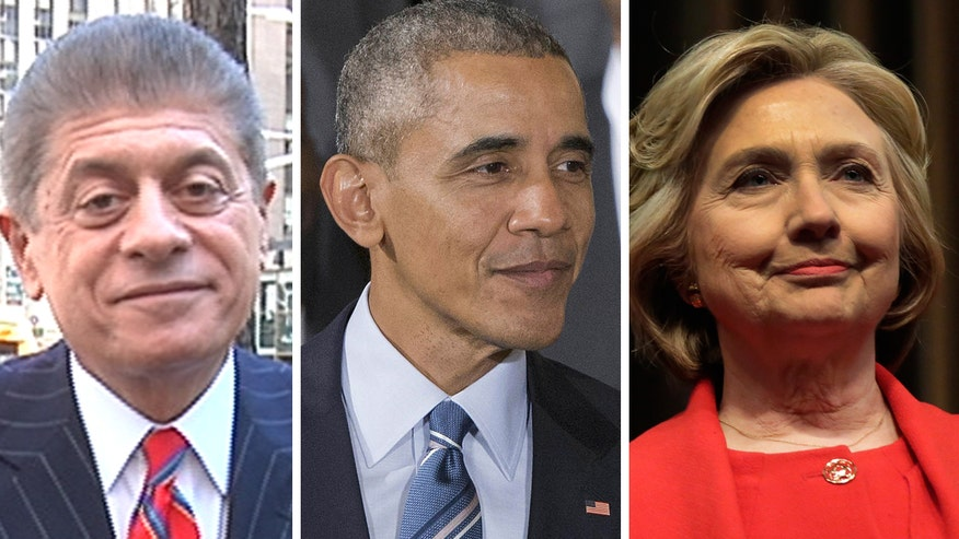 Judge Napolitano's Chambers: Judge Andrew Napolitano reacts to Obama's comments to Fox News' Chris Wallace about Hillary Clinton's email scandal