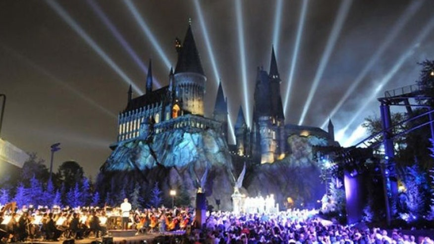 Universal Studios Hollywood unveils The Wizarding World of Harry Potter