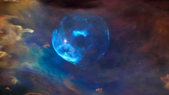 Hubble telescope spots enormous space bubble