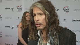 Fox411: Aerosmith lead singer Steven Tyler discusses his benefit concert for Janie's Fund to help female abuse victims