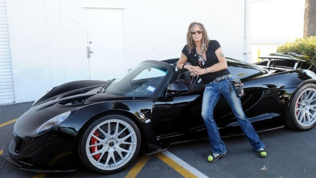 Steven Tyler drove HOW FAST?!