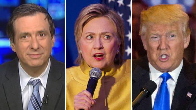 Kurtz on Trump vs. Hillary: Is the press wrong again?