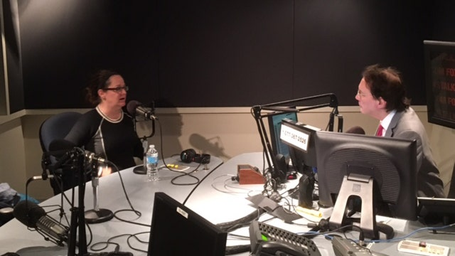 Alan Colmes and Kelly Carin