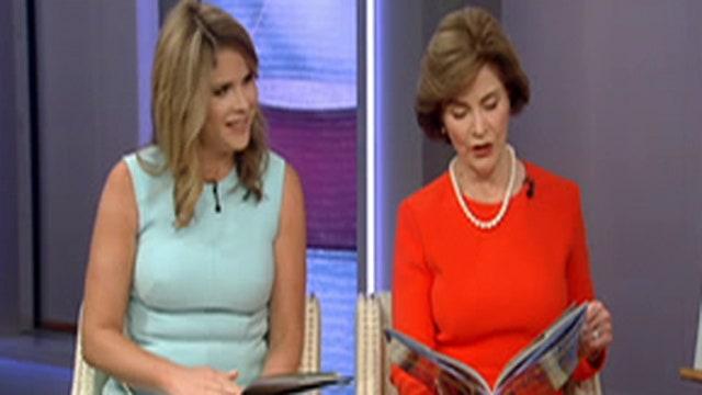 Fox Flash: Laura Bush and Jenna Bush Hager