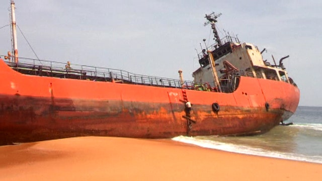 MOST WATCHED: Mysterious 'ghost ship' washes ashore